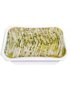White Anchovy in Garlic, Vinegar & Olive Oil 17.63oz Conservas y Salazones Arlequin - 3