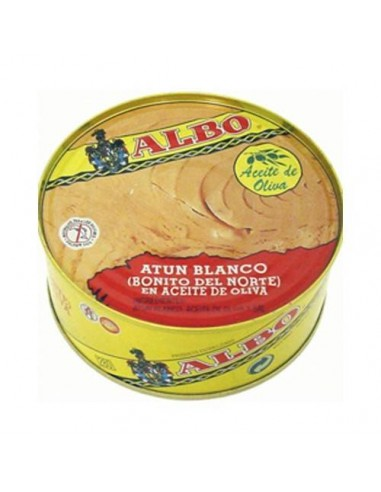 Albo White Tuna (Atlantic Bonito) in Olive Oil Conservas Albo - 1