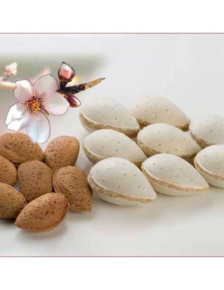 Almond Nougat Stuffed Wafers