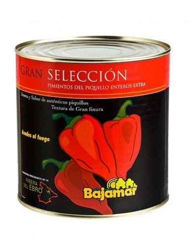 Whole Red Piquillo Peppers
