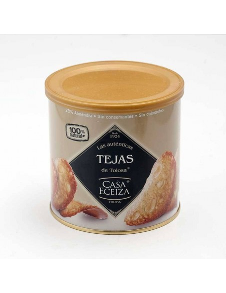 Traditional Almond Cookies (Teja de Almendra)