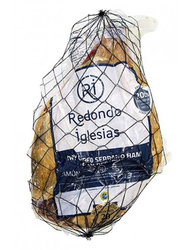 Whole Bone-less Serrano Ham FREE SHIPPING Redondo Iglesias - 1