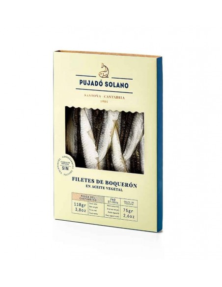 Pujado White Anchovy Fillets Marinated