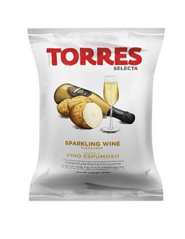 Torres Patatas Fritas Selecta Sabor a Vino Espumoso 50g