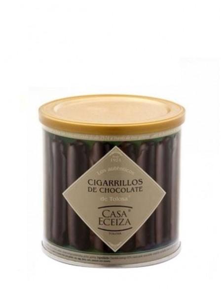 Cigarrillos de Tolosa bañados en chocolate