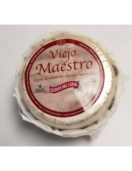 VIEJO MAESTRO GOAT CHEESE Moldy
