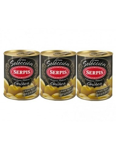 "Serpis Anchovy Stuffed  Olives ""Great Selection"""