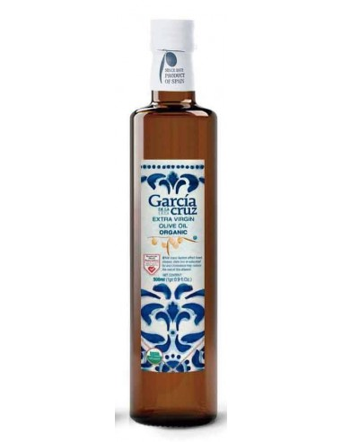 GARCIA DE LA CRUZ Organic EVOO in Dorica Glass Bottle 500ml