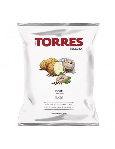 Torres Potato Chips Hot Smoked Paprika de la Vera 1.76oz/50g