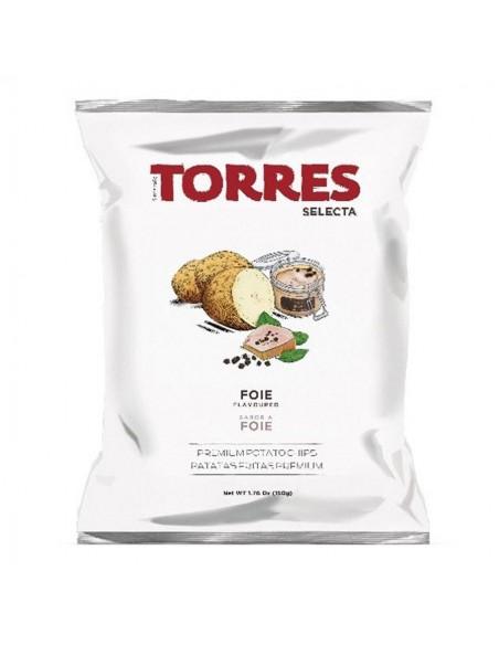 Torres Patatas Fritas con Pimentón de la Vera Picante 50g
