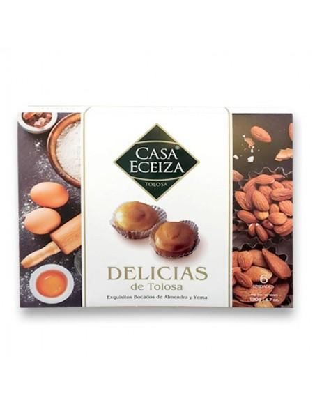 Tolosa Egg Yolk and almond cake by Casa Eceiza