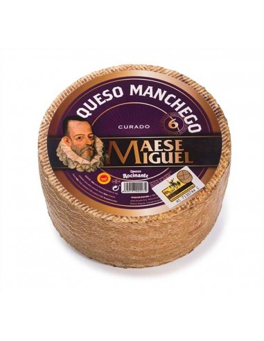 MANCHEGO MAESE MIGUEL DOP 6M Reserva