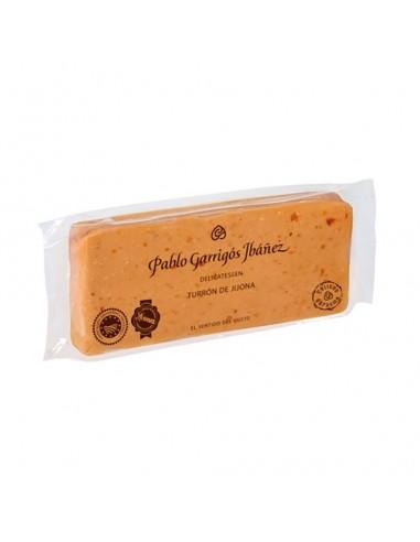 Turron de Jijona sin azucares añadidos Delicatessen 300gr PABLO GARRIGOS - 2