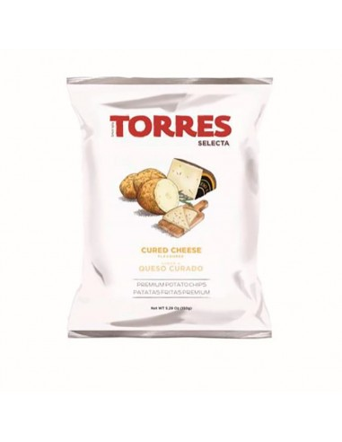 Torres Potato Chips Cured Cheese 1.76oz/50g