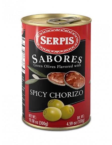 Serpis Spicy Chorizo Stuffed Olives Serpis - 1