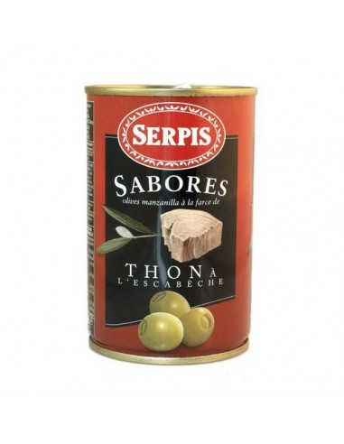 Serpis Tuna Stuffed Olives Serpis - 1