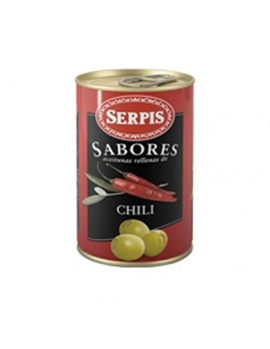 Serpis Hot Chili Stuffed Olives Serpis - 1