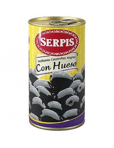 Whole Cacereña Black Olives
