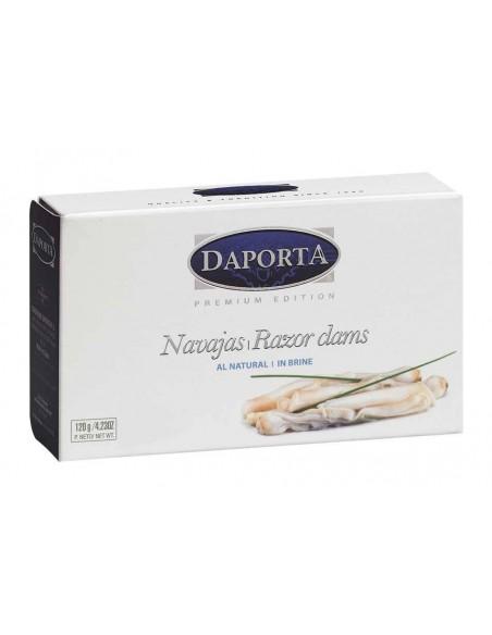 Daporta Razor Clams in Brine All Natural Conservas Daporta - 2