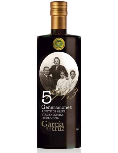 "EVOO Cornicabra, Arbequina & Hojiblanca ""5 Generations"" 500ml/16.9floz"