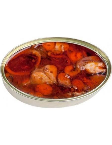 Tender Octopus in a Marinera Sauce