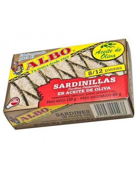 Baby Sardines in Olive Oil