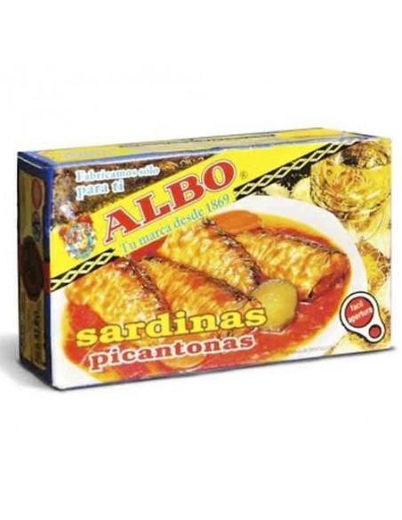 Albo Sardines in Hot Sauce 'Picantonas' Conservas Albo - 1