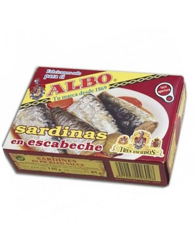 Albo Sardines in Pickled Sauce Conservas Albo - 1