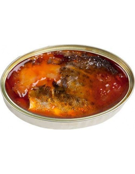 Cod Fish in Biscayan Sauce