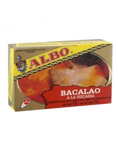 Albo Cod-Fish in Biscayan Sauce (Bacalao) Conservas Albo - 1
