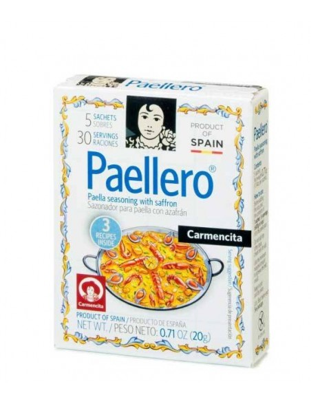 "Paella Seasoning with Saffron ""Paellero"" Carmencita - 1"