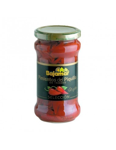Piquillo Pepper Pieces Marinated in Olive Oil & Garlic