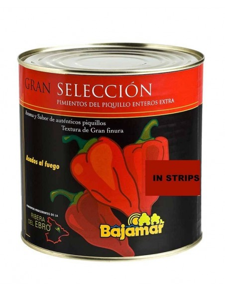 Piquillo Pepper in Strips