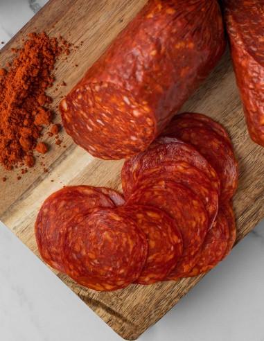 Chorizo Pamplona Pre-sliced 8oz