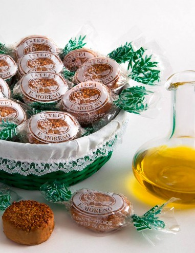 Mantecados de Aceite de Oliva I.G.P...