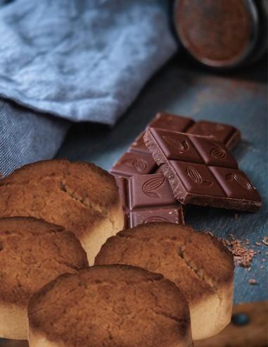 Mantecados de Chocolate I.G.P. 1.1lb...