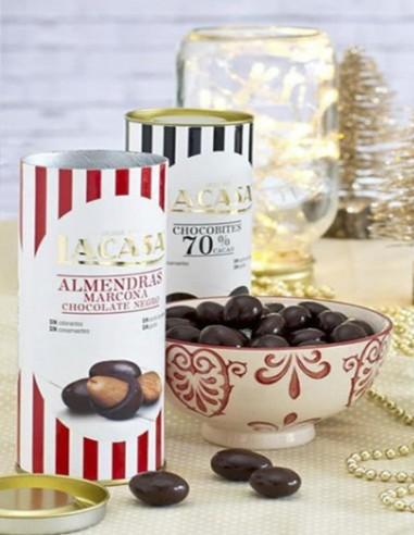 Bote Almendras Marcona con Chocolate...