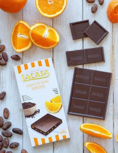 Dark Chocolate with Orange Gluten...