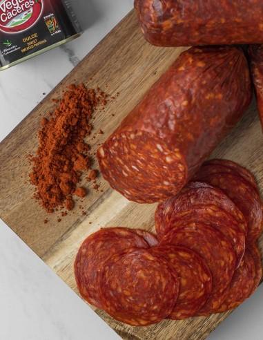 Chorizo Pamplona Pre-sliced 4oz
