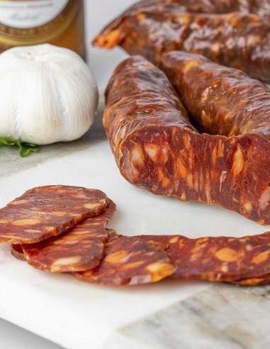 Chorizo Sarta Pre-sliced 4oz