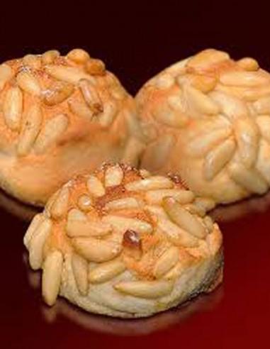 """Empiñonados"" Marzipan with Pinenuts..."