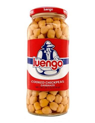 Luengo Cooked Chickpea Beans LEGUMBRES LUENGO - 1