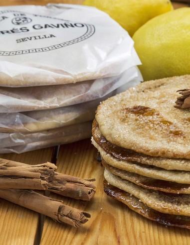 Handmade Cinnamon & Lemon Tortas 6u