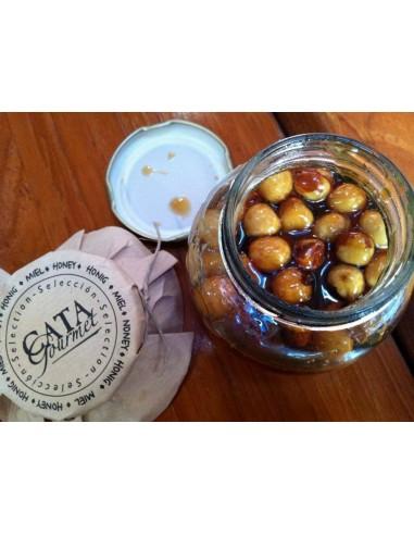 Chestnut Honey with Hazelnuts