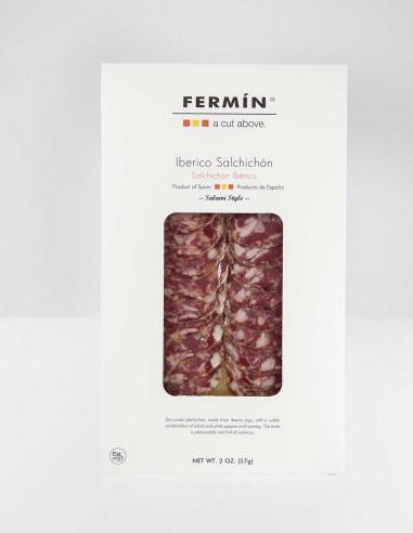 Ibérico Salchichón Sliced 2oz by Fermin