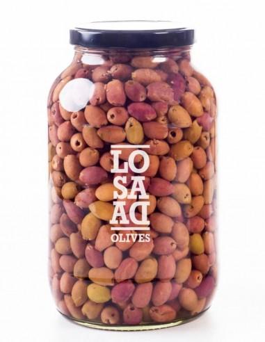 Losada Pitted Natural Cornicabra Olives