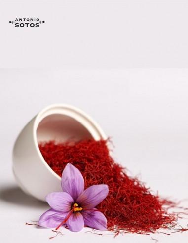 Saffron Threads in glass 1gr Antonio...