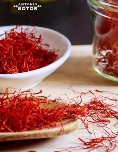 Saffron Threads in glass 2gr Antonio...