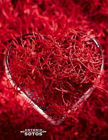 Saffron Threads in tin 1oz Antonio Sotos