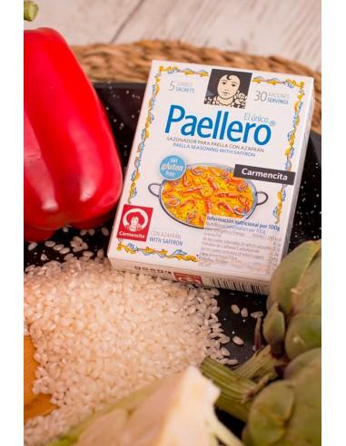 Sazonador para Paella con Azafrán